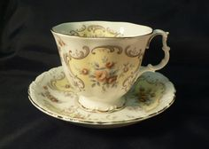 Royal Albert 1970 September Song Bone China Cup by Cupsofthepast, $20.00