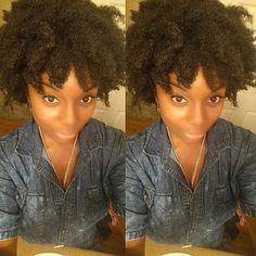@iamkayfitz The rain got the best of me but at least my face still look nice #Hair2mesmerize #naturalhair #healthyhair