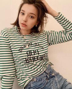 Angelina Danilova, Yogurt Bowl, New Music, Korean, Turtle Neck, T Shirts For Women, Fashion, Moda, Korean Language