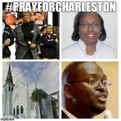 May the dearly departed victims of the Charleston Church Massacre rest in God's perfect peace. I pray that the Lord comforts the families of the lost and heals and restores the peace of mind of those who witnessed and survived the ordeal. Amen. #CharlestonChurchMassacre #CharlestonChurchMassacreVictims #PrayForCharleston #RestInPeace