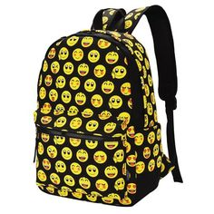 50e58f12c7 Emoji School Backpack. Emoji school supplies. Emoji school outfits. Emoji  School Supplies