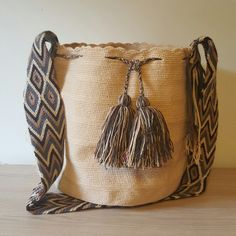 Beige Wayuu Bag