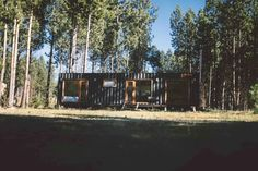 Shipping Container House Coyhaique, Chile - Living in a Container Chile, Shipping Container Cabin, Tiny House Design, House Layouts, Tours, House Styles, Plants, Renta, Home Decor