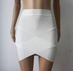 Newest Fashion Women Summer HL Bandage Skirt Mini Pencil Sexy Wear Brand Quality Drop Shipping HL135-1