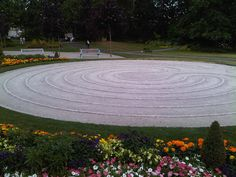 The Labyrinth in Fleetwood Gardens, City of Surrey, B.C. by Elwin Witzke, via Flickr