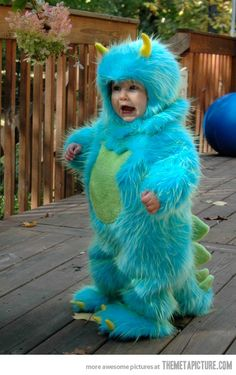 James P. Sullivan.. cutest costume ever!