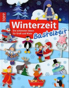 winterzeit Kids Crafts, Book Crafts, Crafts To Make, Paper Crafts, Christmas Books, Christmas Crafts, Christmas Ornaments, Magazine Crafts, Magazines For Kids