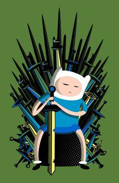 Finn / Game of thrones Art Print
