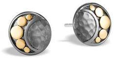 See the Dot Crescent Moon Stud Earrings. Pandora Bracelets, Silver Bracelets, Sterling Silver Earrings Studs, Stud Earrings, Silver Ring, John Hardy Jewelry, Couple Jewelry, Yellow Earrings, Wedding Jewelry Sets