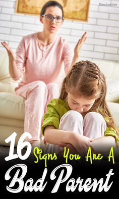 16 Signs of Bad #Parenting And 7 Ways to Fix It : How well are you #parenting your kid(s)? This post tells you all about bad #parenting and ways to handle your kids. Read on!