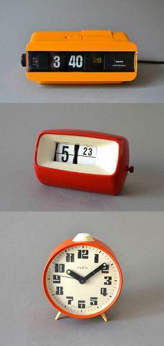 Vintage alarm clock found on etsy - MightyVintage .