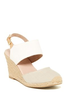 Bali Two-Piece Wedge Sandal by Adam Tucker on @nordstrom_rack