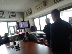 The project and commercial staff looking at the new promotional video of Unica, home and decor new furinishing Cantoni line. #cantonistaff #cantoniunica #cantonistrategies
