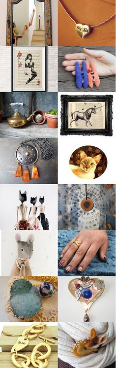 Antique Mirror by Natalie Ellington on Etsy--Pinned with TreasuryPin.com
