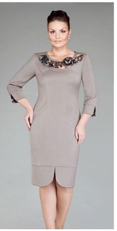Модная одежда для полных женщин 2012 - 60 фото!:
