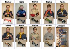 Pinewood Derby Photo Idea