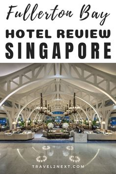 For those who like luxury glamour and a real sense of place Fullerton Bay Hotel Singapore ticks all the boxes. The hotel is a six-storey modern affair built on stilts over Marina Bay. babies flight hotel restaurant destinations ideas tips Hotels And Resorts, Best Hotels, Luxury Hotels, Amazing Hotels, Singapore Travel Tips, Singapore Food, Fullerton Bay, Asia Travel, Malaysia Travel