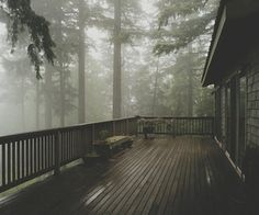 53 Ideas nature forest mountains mists mornings for 2019 Cabins In The Woods, House In The Woods, My House, Story House, Casa Mix, Beautiful Homes, Beautiful Places, Cheap Home Decor, Porches