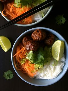 Bun Cha - Vietnamesiske kødboller