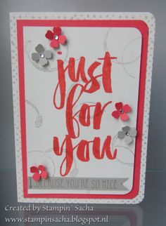 Stampin' Sacha - Stampin' Up! - Occasions Catalog 2016 - Timeless Textures - Sale-A-Bration - Botanicals for You