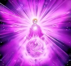Archangel Zadkiel and his violet flame!!                                    THE SPIRITUAL ASSOCIATIONS WITH ARCHANGEL ZADKIEL: Inspires and frees the imagination, aids meditation, enhances psychic abilities, envelops the intuition, enables spiritual vision, brings spiritual dedication and meaningful dreams, used for past life regression, aide soul connect, helps develop the crown chakra, gives psychic protection, opens the higher mind and cleanses and purifies!! Archangel Zadkiel, Angel Clouds, Romantic Themes, Soul Sunday, Past Life Regression, Ascended Masters, Marriage And Family, Auras, Saint Germain