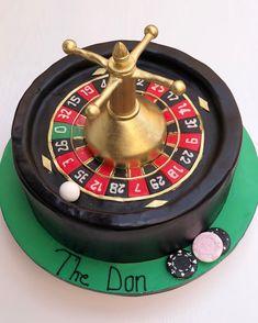 Black roulette cake
