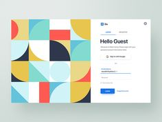 Signup Page designed by Sourabh Barua. Connect with them on Dribbble; Login Page Design, Ui Design, Web Forms, Lettering, App, Website, Create, Pattern, Patterns