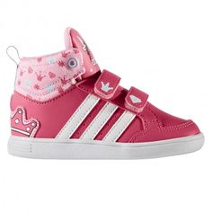 Basket Adidas bébé fille Rose
