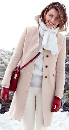 Preppy winter outfit! For real winter conditions like in Scandinavia :)