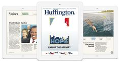 The aggregator builds a magazine: The Huffington Post slows itself down with Huffington » Nieman Journalism Lab