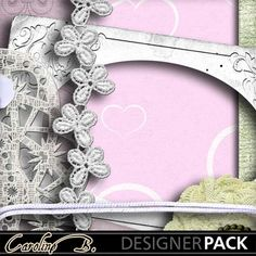 Flower And Lace Weddings Kit4 www.mymemories.com/store/display_product_page?id=CBDS-CP-1405-59275&r=carolineb