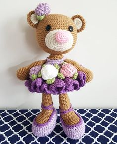 Bibi the Ballerina Bear.