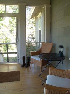 Decatur Bungalow Porch Addition traditional porch