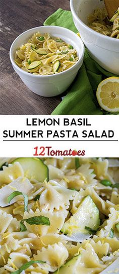 Lemon Basil Summer Pasta Salad – use sunflower seeds instead of pine nuts. From … Lemon Basil Summer Pasta Salad – use sunflower seeds instead of pine nuts. From Heidi An easy Lemon Basil PastaStrawberry Lemon Basil PaBasil Lemon Vinaigrette D Lemon Pasta Salads, Summer Pasta Salad, Pasta Salad Recipes, Easy Salads, Summer Salads, Zucchini Pasta Salads, Summer Pasta Dishes, Yummy Pasta Recipes, Pasta Food