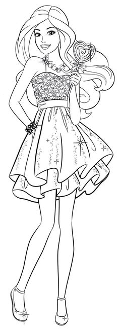 10 Coloring Pages Ideas Coloring Pages Barbie Coloring Pages Barbie Coloring