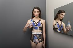 Norwegian Wood lingerie print inspired by collections Rijksmuseum Amsterdam project (in colloberation with Etsy)
