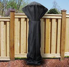 Sunnydaze Outdoor Patio Heater Cover, Waterproof Fabric, Heavy Duty Stand Up Propane Cover, 94 Inch Tall, Black Outdoor Heaters, Patio Heater, Round Fire Pit Cover, Patio Furniture Covers, Outdoor Furniture, Thing 1, Patio Dining, Waterproof Fabric, Beige