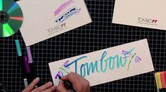 Tombow Techniques - Lettering