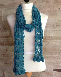 Maggie's Crochet · Shells & Lace Scarf Crochet Pattern