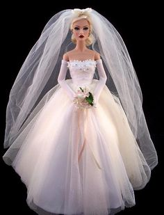 Our timber barbie dolls residence series has got a series of different styles and measures, our timber toy dolls holds are fantastically illustrated in and out. Barbie Bridal, Barbie Wedding Dress, Wedding Doll, Barbie Gowns, Barbie Dress, Barbie Clothes, Wedding Dresses, Bridal Gowns, Barbie Style