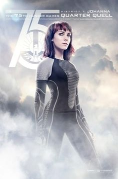 NEW CATCHING FIRE POSTERS SHOW OFF ALL OF THE VICTORS! Johanna (Jena Malone)