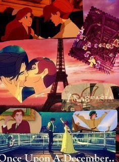 Anastasia, a princess adventure;) once upon a December... hmmm