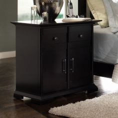 Nightstand Bed side table Cherry wood Furniture