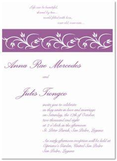 wedding freebie 17th invitation My day Pinterest Wedding