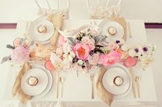 wedding-reception table