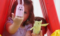 Easter Craft – How To Make Puppets From Toilet Rolls