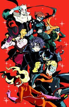 Persona 5 Anime, Super Smash Bros, Art Reference, Fantasy Art, Nerd, Character Design, Joker, Fan Art, In This Moment