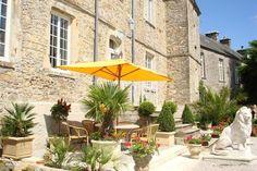 Vakantiehuis Frankrijk, Normandië, Brix Landhuis / Kasteel Chateau le Val