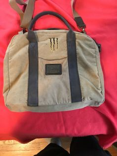Monster Messanger Bag  fashion  clothing  shoes  accessories   mensaccessories  bags (ebay link) 247647bd6420a