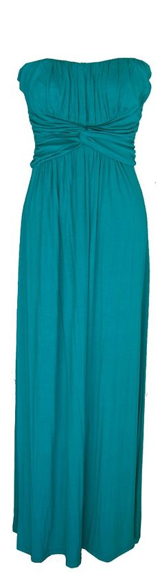 Jade Strapless Maxi Dress